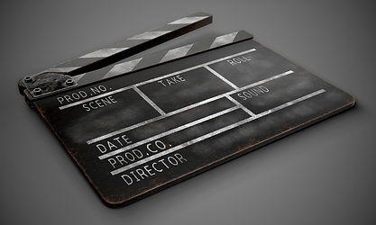 clapperboard-on-a-dark-background-close-