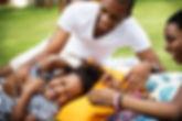 black-family-enjoying-summer-together-at