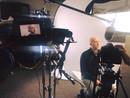Michael Mueller behind the scenes.