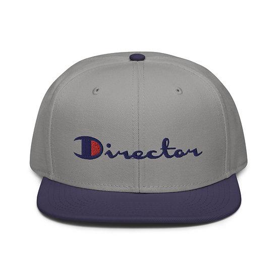 DIRECTOR LOGO HAT