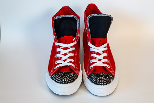 Black & Red Men Converse