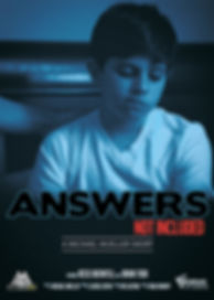 Answers Not Inlcuded shor film poster