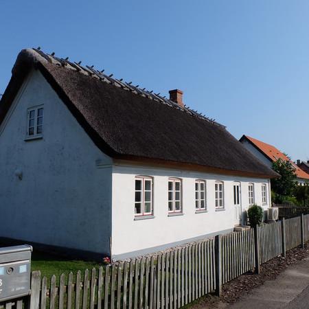 Huset set fra vest