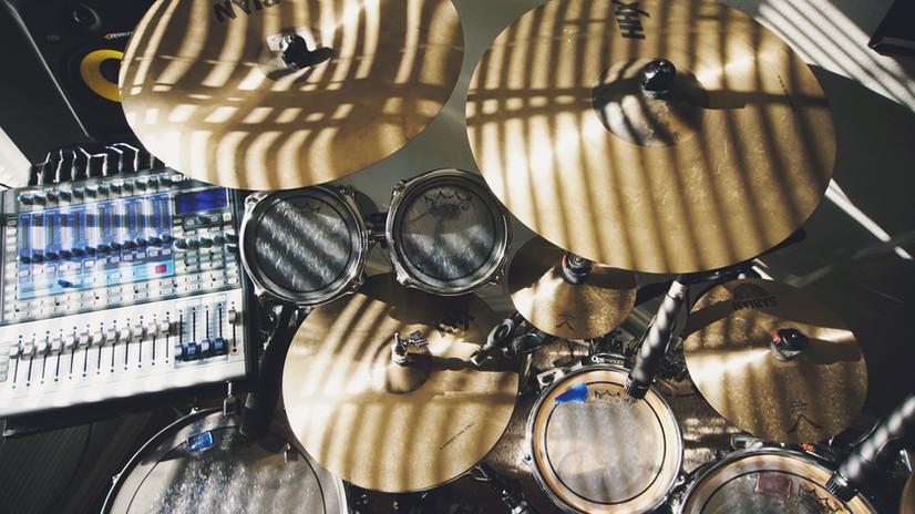 Schlagzeug-Set