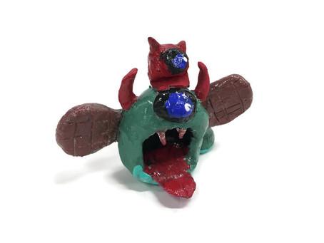 Grade 6 Clay Creatures