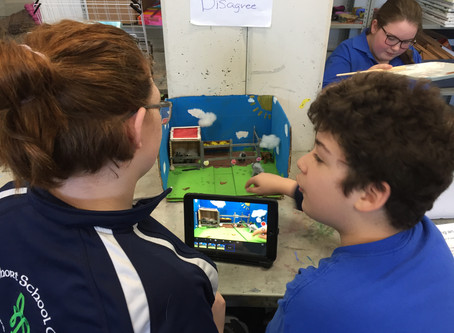 Grade 6: Stop Motion Animation