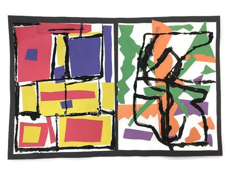 Grade 1: Mondrian Meets Matisse