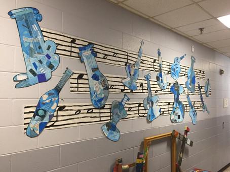 Grade 1: Blue Guitars