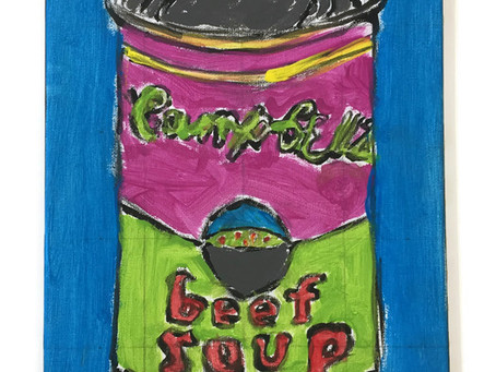 Grade 5: Warhol Inspired Soup Cans