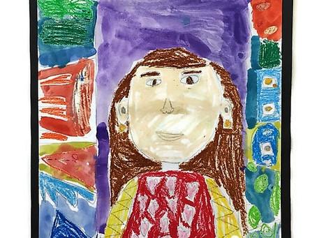 Grade 2A Self-Portraits