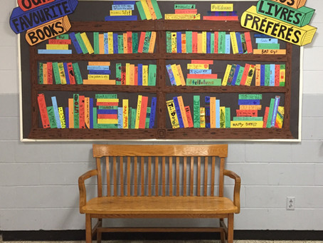 Reading Week Mural!