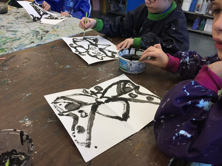 Painting & Printing Butterflies