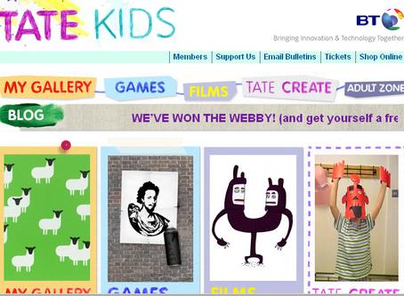 Tate Kids- Online Art Activities
