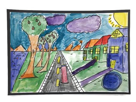 Grade 5: 1pt Perspective Gallery