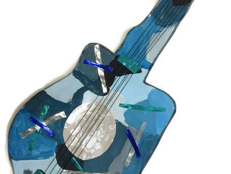 5A Blue Guitars
