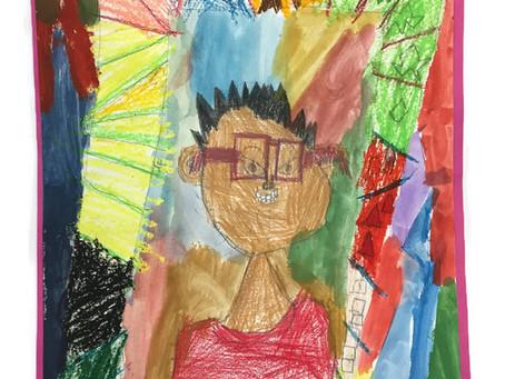 Grade 2: Self-Portraits