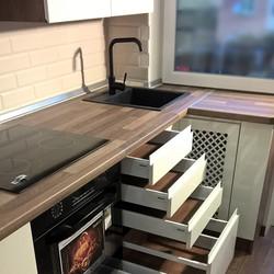 кухня 33м
