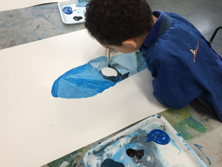 Grade 1: Blue Guitars Inspired by Pablo Picasso