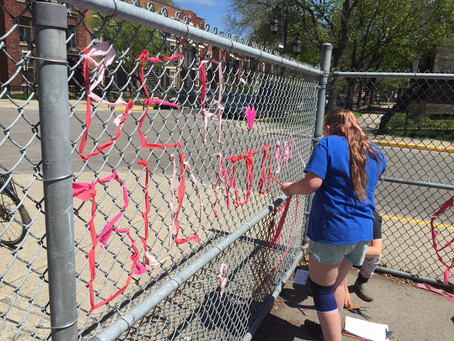 Special Project: Outdoor Weaving for Anti-Bullying