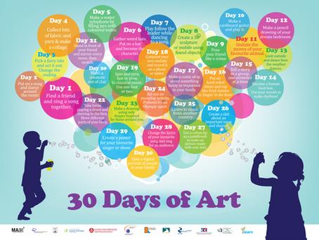 30 Days of Art!