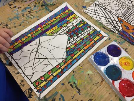 Grade 4: Interiors à la Matisse