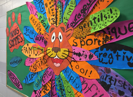 Back to School Mural