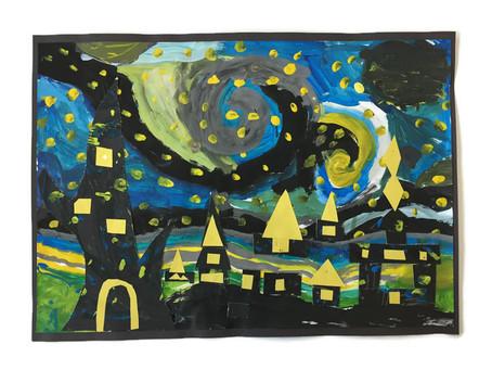 2B: Starry Night