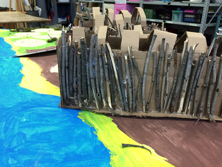 Grade 3: Imagining a First Nations Village