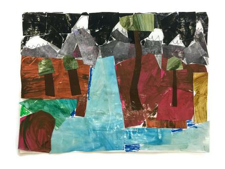 Grade 2 Landscape Collage