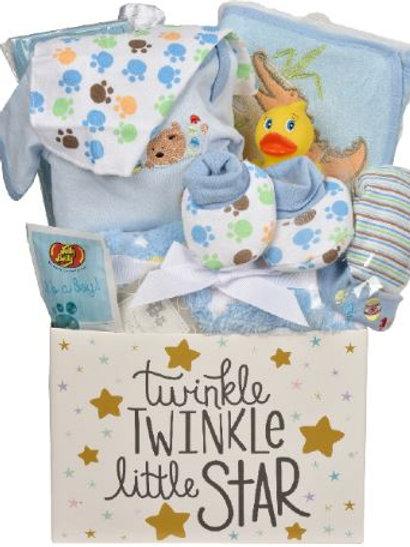 Twinkle Twinkle Gift Basket - Blue (GBA967)
