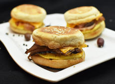 Egg Muffin-Corned Beef