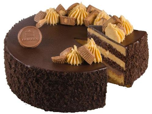 "8"" OMG Chocolate Peanut Butter Cake"