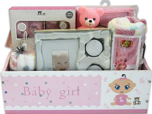New Arrival Gift Basket - Pink (GBA970)