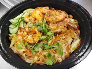 Shrimp Pad Thai Bowl