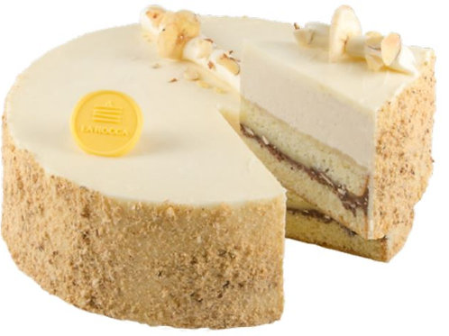"8"" Golden Truffle Banana Crunch Cake"