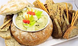 Avocado Hummus Platter.webp