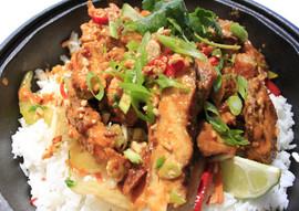 Tandori Red Curry Chicken Bowl