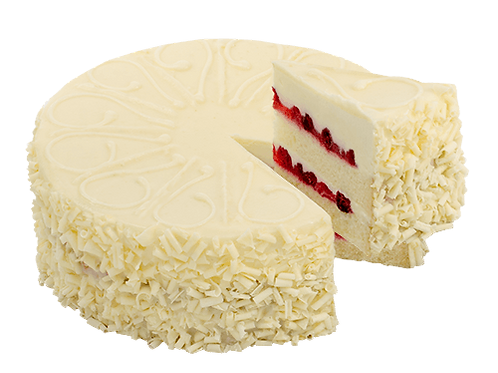 "8"" White Chocolate Cranberry Cake"