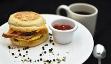 Egg Muffin-Honey Ham