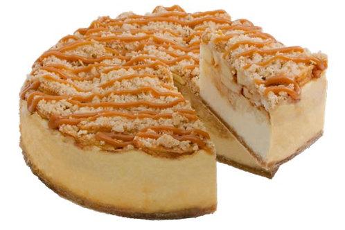 "8"" Apple Caramel Crisp Cheesecake"