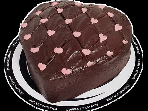 Chocolate Fudge Heart