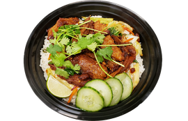 Build Your Own Bowl-Short Ribs + Rice + Veggies + Garnishes