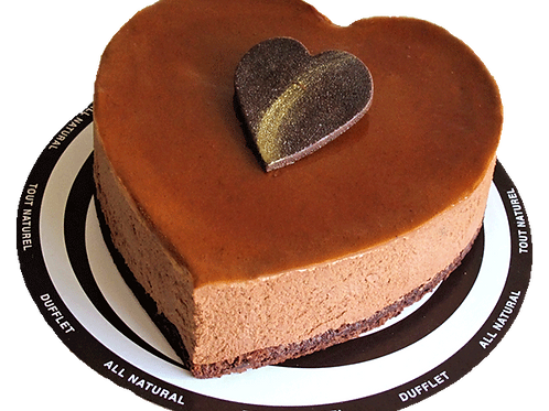 Heart of Gold Chocolate Mousse