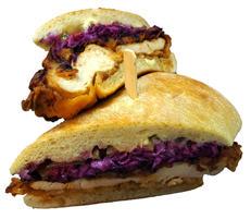 Nashville Hot Chicken Hot Sandwich