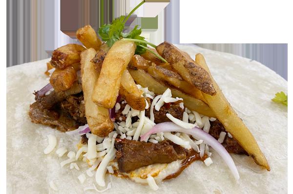 The Barbacoa French Taco