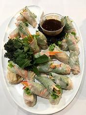 Mini Vietnamese Rice Paper Rolls
