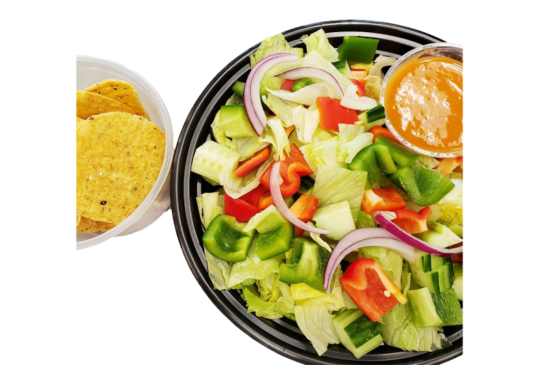 Mexican Salad with Chips