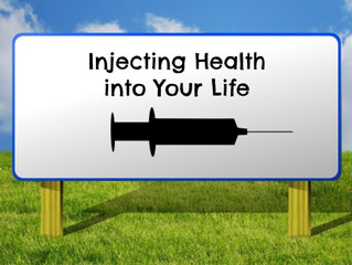 Injecting Health Into Your Life