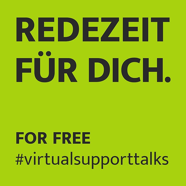 Redezeit für dich. For Free. Virtualsupp