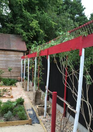 Recreation of a Roman Garden, Trust for Thanet Archaeology